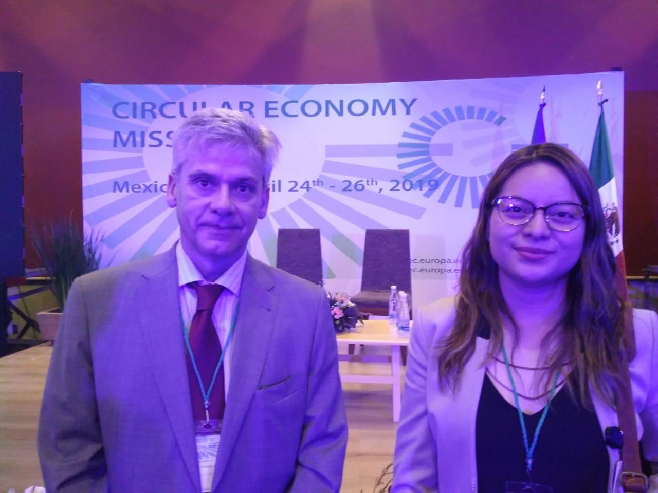 ECOSS Circular en CEM EU MX 2019, Misión Internacional de Economía Circular